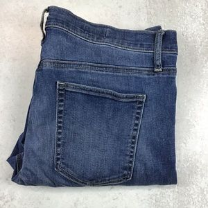 Gap 33r True Skinny Jeans Medium Wash 0170